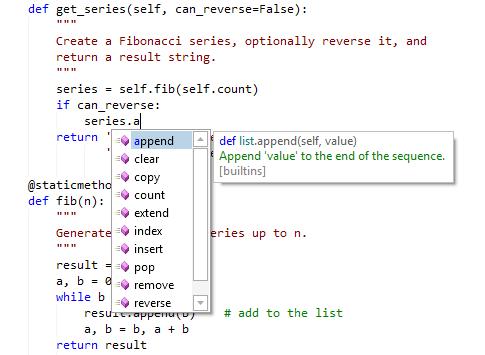 Actipro SyntaxEditor Python Language Add-on - Advanced